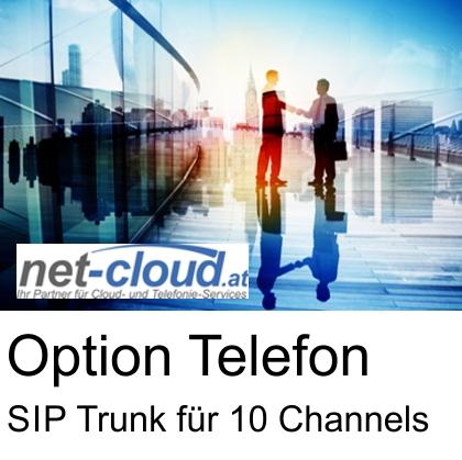 Anbieter: net-cloud Service: SIP Trunk 10 only