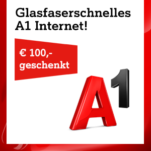 Anbieter: A1 Service: Internet 100 Mbit/s